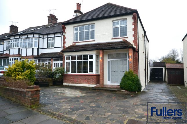 Thumbnail Detached house for sale in Hoodcote Gardens, Winchmore Hill