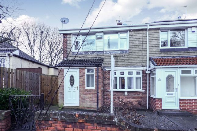 Thumbnail Terraced house for sale in Vicarage Close, New Silksworth, Sunderland