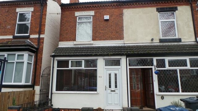 Thumbnail End terrace house for sale in Johnson Road, Erdington, Birmingham