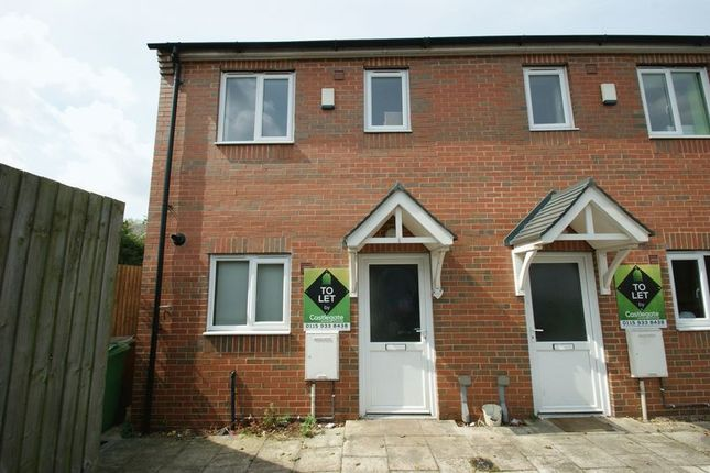 Thumbnail Semi-detached house to rent in Muriel Gardens, Bulwell, Nottingham