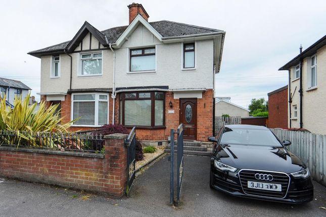 Thumbnail Semi-detached house for sale in Castlereagh Road, Castlereagh, Belfast