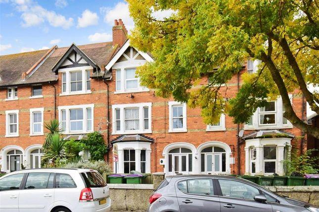 Thumbnail Flat for sale in Wear Bay Crescent, Folkestone, Kent