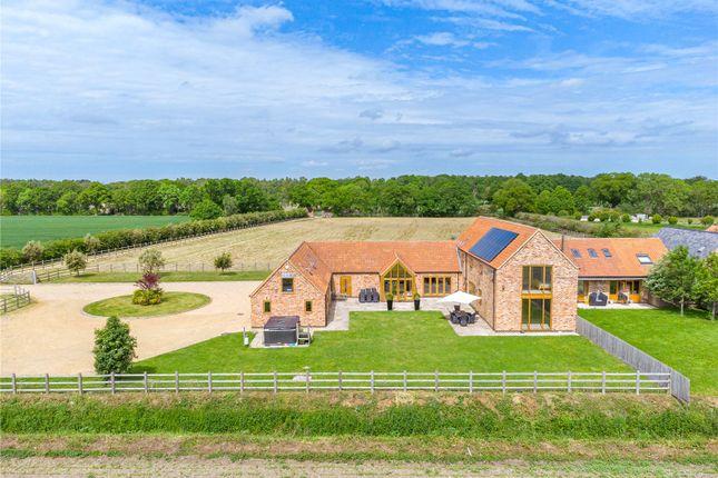 Detached house for sale in Black Lane, Doddington, Lincoln, Lincolnshire