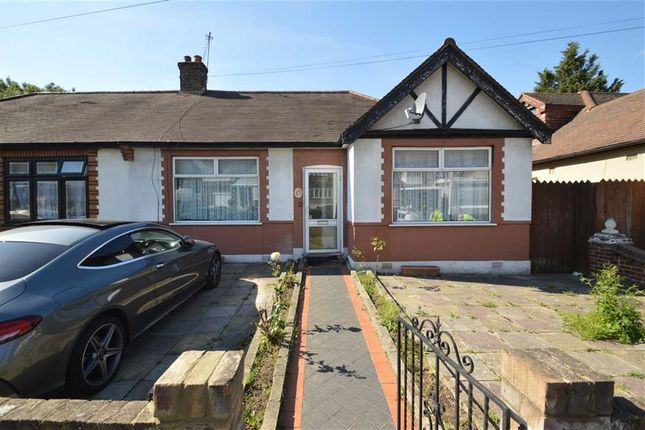 Thumbnail Semi-detached bungalow for sale in Wanstead Park Road, Ilford, Essex