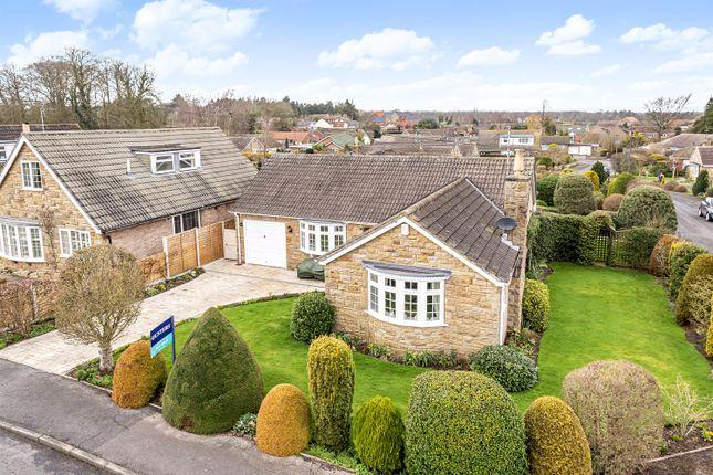 Thumbnail Detached bungalow for sale in Melrose Road, Bishop Monkton, Harrogate