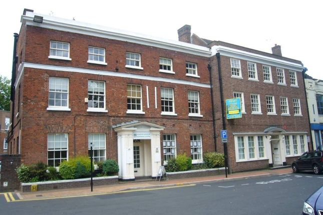 Office to let in Queens Gardens Business Centre, 31 Ironmarket, Newcastle-Under-Lyme, Staffordshire