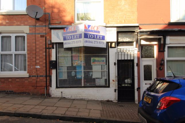 Thumbnail Retail premises to let in Dronfield Street, Leicester