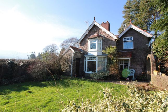 Thumbnail Detached house for sale in Pentre Road, Llanwenarth, Abergavenny