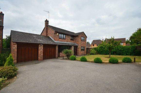 Thumbnail Detached house for sale in Breck Close, Great Oakley, Corby