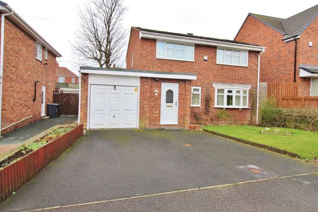 Thumbnail Detached house for sale in Rectory Close, Wombwell, Barnsley