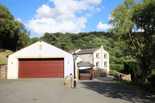 Thumbnail Detached house for sale in Gelder Clough Farm, Ashworth Valley, Heywood