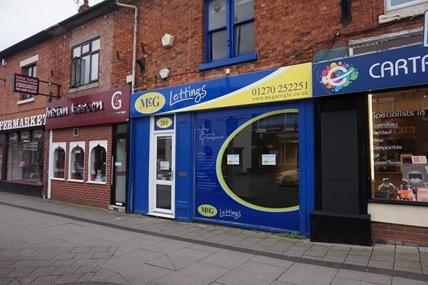 Thumbnail Retail premises to let in 201 Nantwich Road, Crewe, Cheshire