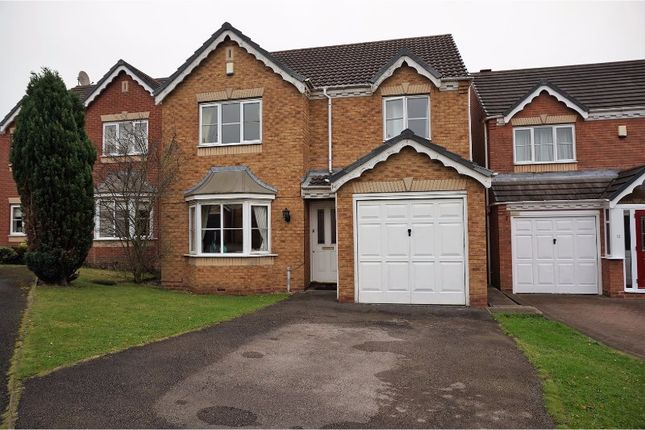 Thumbnail Detached house for sale in Wrekin Grove, Willenhall
