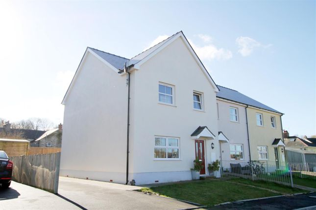 3 bed end terrace house for sale in Heol Dewi, Newcastle Emlyn SA38