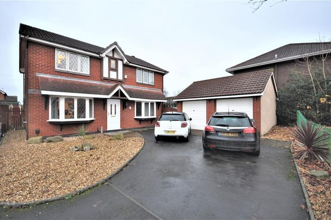 Thumbnail Detached house for sale in Dovedale Close, Ingol, Preston, Lancashire