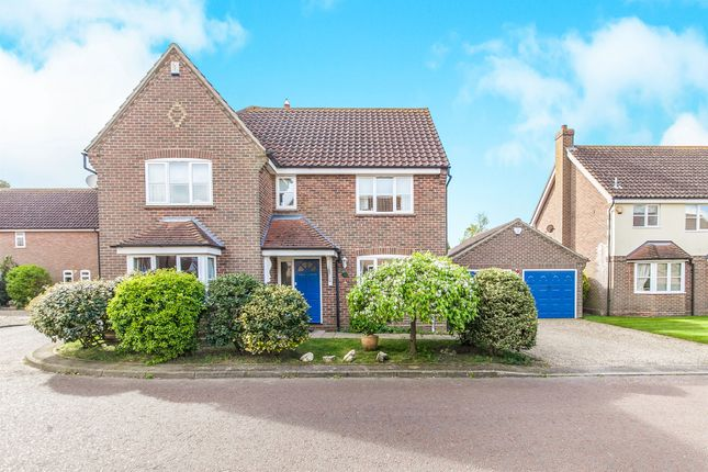 Thumbnail Detached house for sale in Howards Croft, Colchester