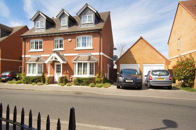 Thumbnail Detached house for sale in Almond Tree Drive, Weston Turville, Aylesbury