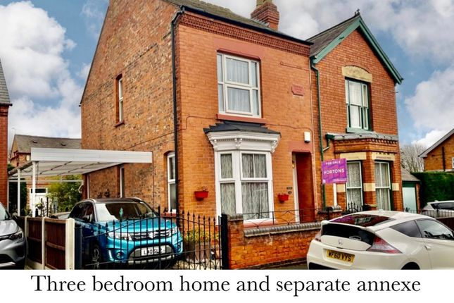 Thumbnail Semi-detached house for sale in Perseverance Road, Birstall, Leicester