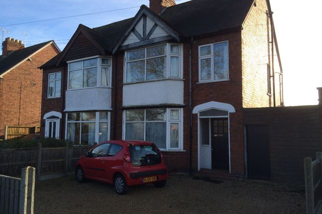 Thumbnail Semi-detached house to rent in 128 Radford Road, Leamington Spa
