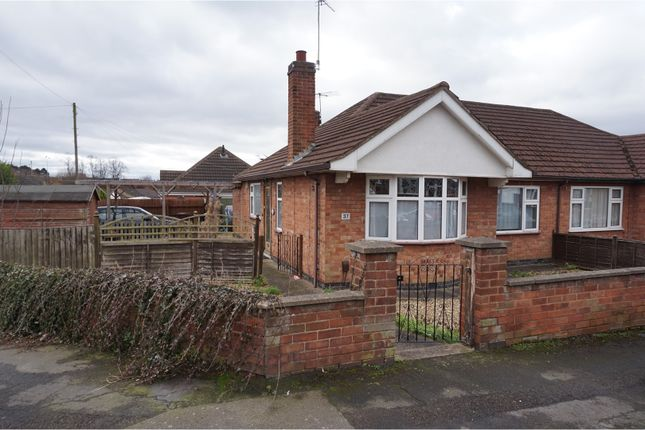 Thumbnail Semi-detached bungalow for sale in Alexandra Street, Thurmaston