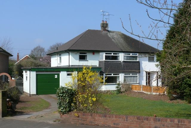 Thumbnail Semi-detached house to rent in Ray Avenue, Nantwich