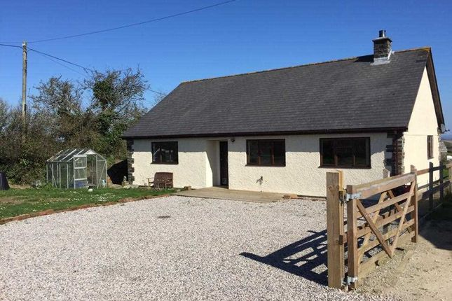 Thumbnail Bungalow for sale in Gorran Churchtown, St Austell, Cornwall