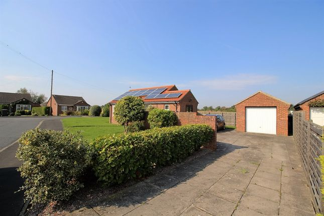 Thumbnail Detached bungalow for sale in The Green, York