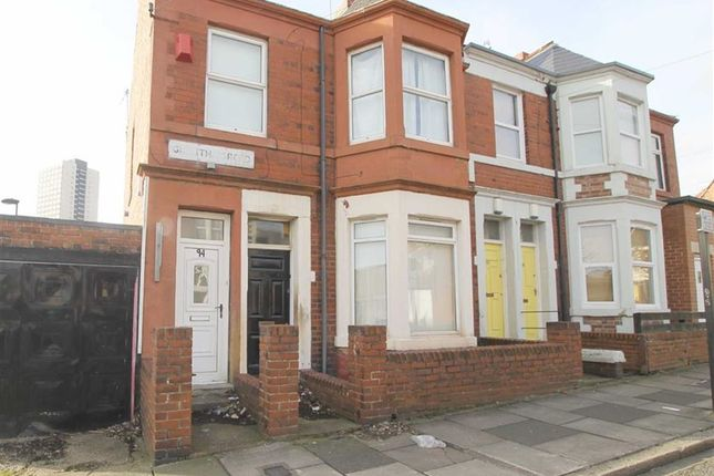 Thumbnail Maisonette for sale in Grantham Road, Sandyford