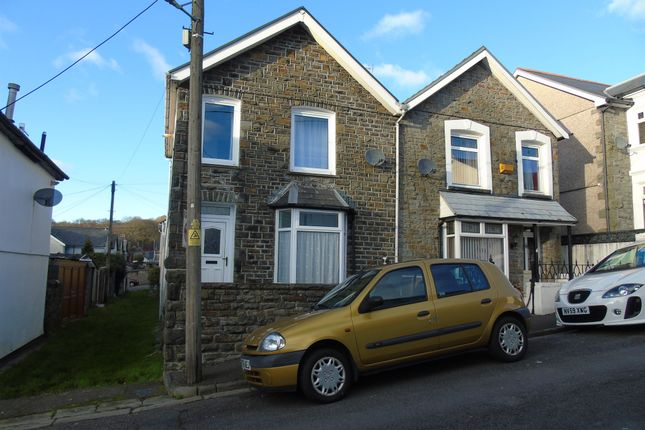 Thumbnail Semi-detached house for sale in Fox Street, Mountain Ash