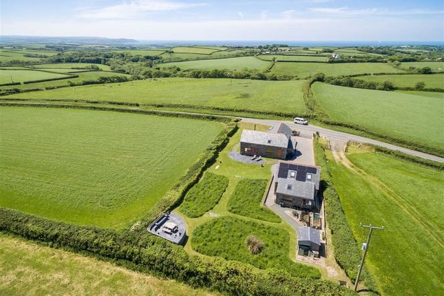 Thumbnail Detached house for sale in Launcells, Nr Bude, Cornwall