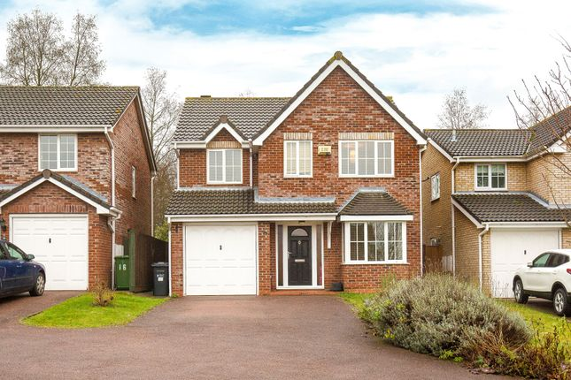 Thumbnail Detached house for sale in Peaks Court, Huntingdon
