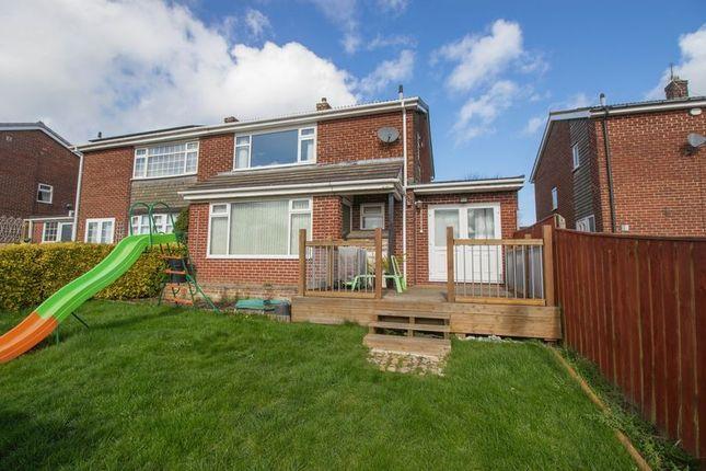 Thumbnail Semi-detached house for sale in Stephenson Way, Blaydon-On-Tyne