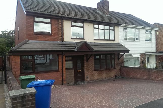 Thumbnail Shared accommodation to rent in Cliftonville Road, Woolston, Warrington