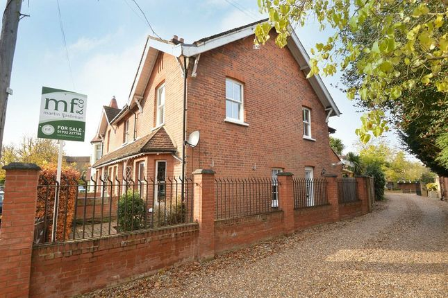 End terrace house for sale in Manor Road, Walton-On-Thames, Surrey
