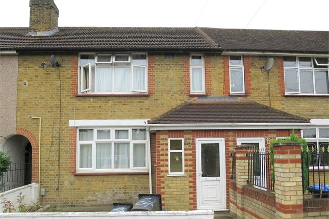 Thumbnail Terraced house for sale in Montagu Crescent, London