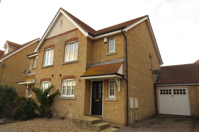 Thumbnail Semi-detached house to rent in Gravel Hill Way, Dovercourt, Harwich
