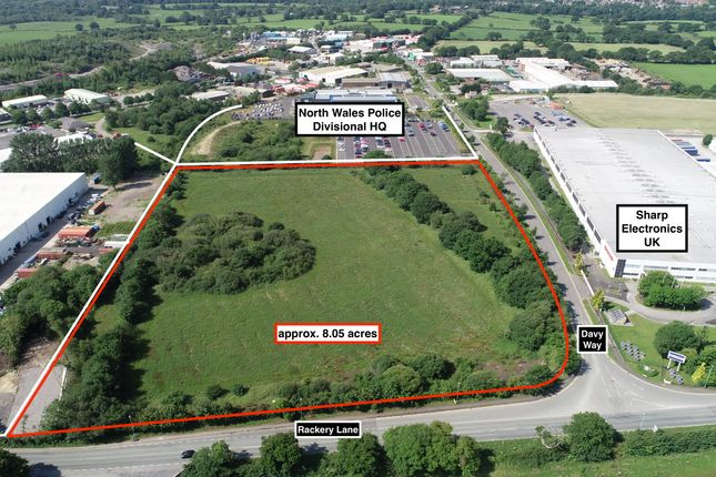 Land for sale in Llay Industrial Estate, Wrexham