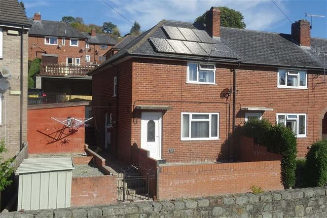 Thumbnail Terraced house for sale in 16, Bron-Y-Buckley, Welshpool, Powys
