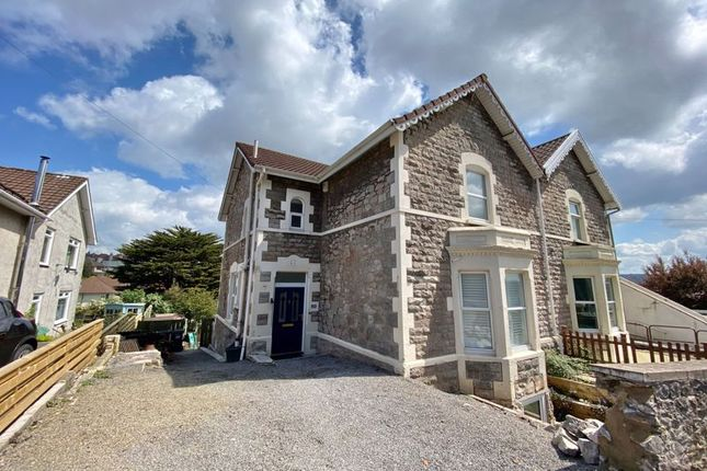 Thumbnail Semi-detached house for sale in Manor Road, Weston-Super-Mare