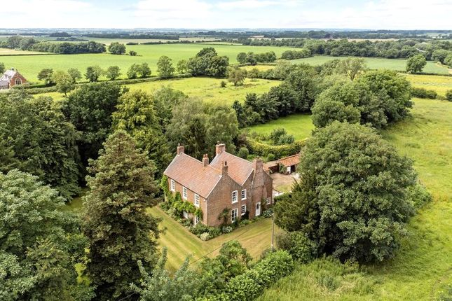 Thumbnail Detached house for sale in The Old Vicarage, Church Lane, North Owersby, Market Rasen