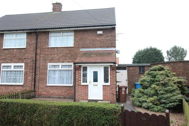 Thumbnail Semi-detached house for sale in Anson Road, Hull