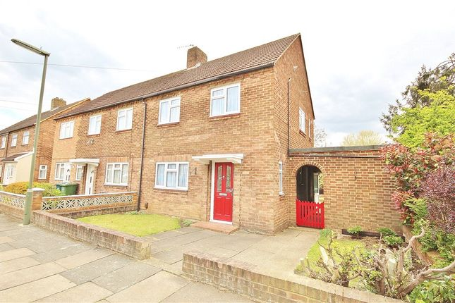 2 bed semi-detached house to rent in Belgrave Crescent, Sunbury-On-Thames, Middlesex TW16