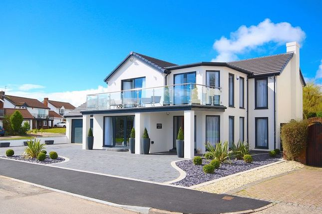 Thumbnail Detached house for sale in Whitcliffe Drive, Penarth