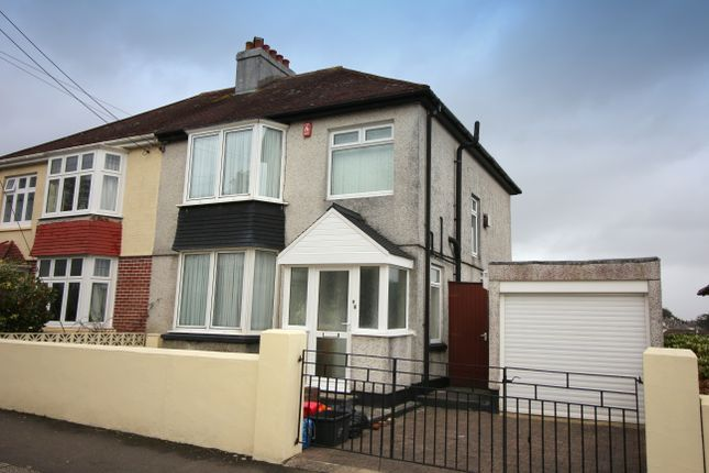 Thumbnail Semi-detached house for sale in Beatrice Avenue, Saltash