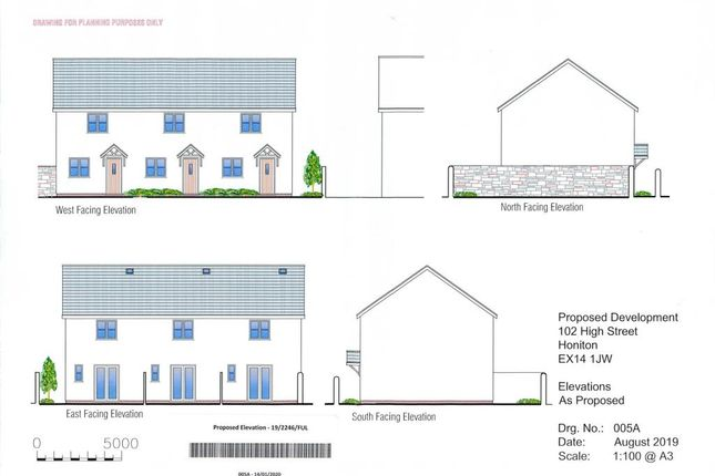 Land for sale in St. John Close, High Street, Honiton