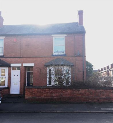 Thumbnail End terrace house to rent in Edgware Road, Bulwell, Nottingham