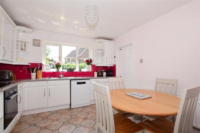 Thumbnail Detached house for sale in Lambourne Drive, Kings Hill, West Malling, Kent
