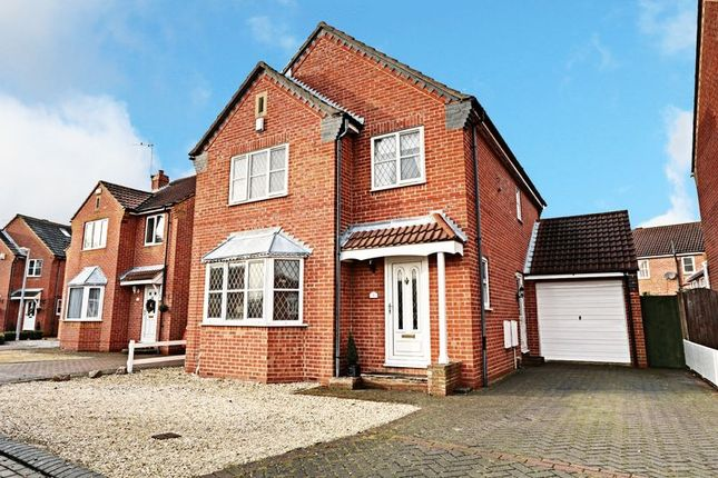 Thumbnail Detached house for sale in Wyntryngham Close, Hedon, Hull