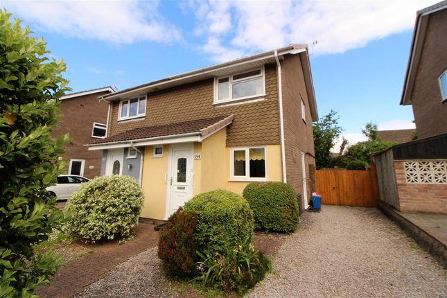 Thumbnail Semi-detached house for sale in Castle Lea, Caldicot