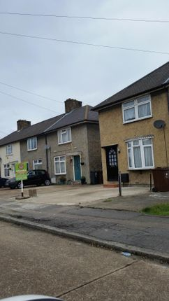 Thumbnail End terrace house to rent in Harrold Road, Becontree, Dagenham